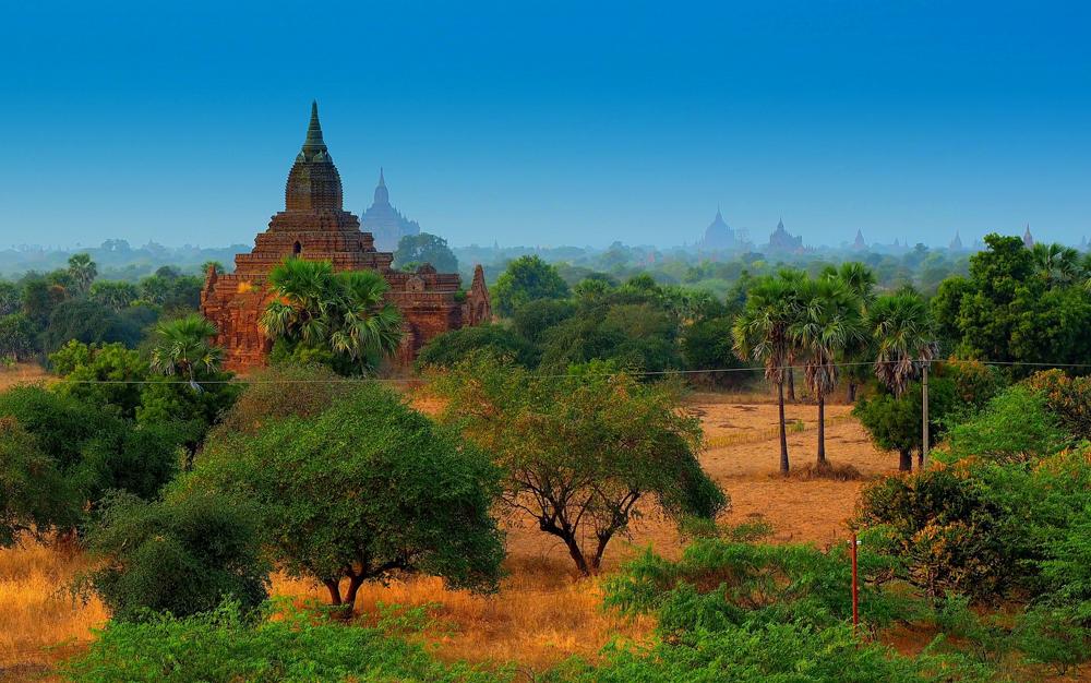 UNESCO World Heritage Site of Bagan