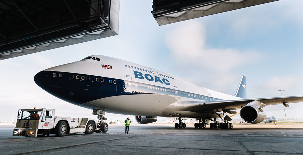 BOAC 002 BOAC 747 Picture by: Stuart Bailey