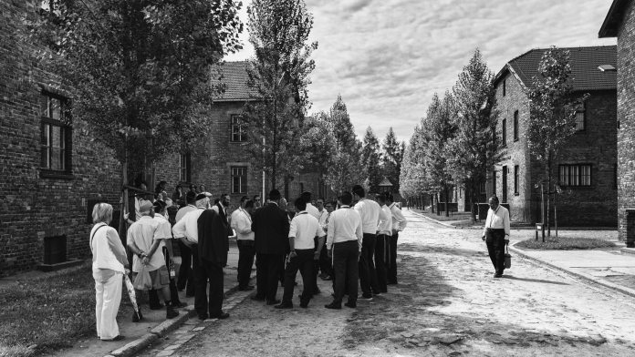 Haunting Photographs of Auschwitz Memorial Camp Jews Paying Homage - Remembering the WW-II Holocaust