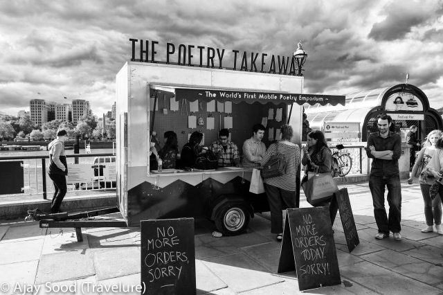 Can't write poetry for your beloved? Not to worry; use the poetry take-away!