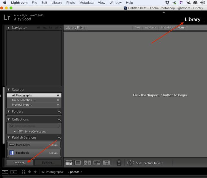 Using Lightroom - A Simple Workflow