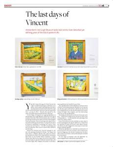 The last days of Vincent