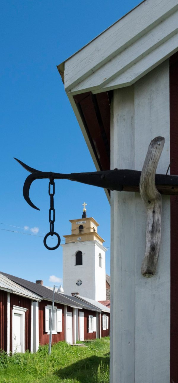 Exploring Sweden's best-preserved church town, Gammelstad - a UNESCO site. Travelure ©