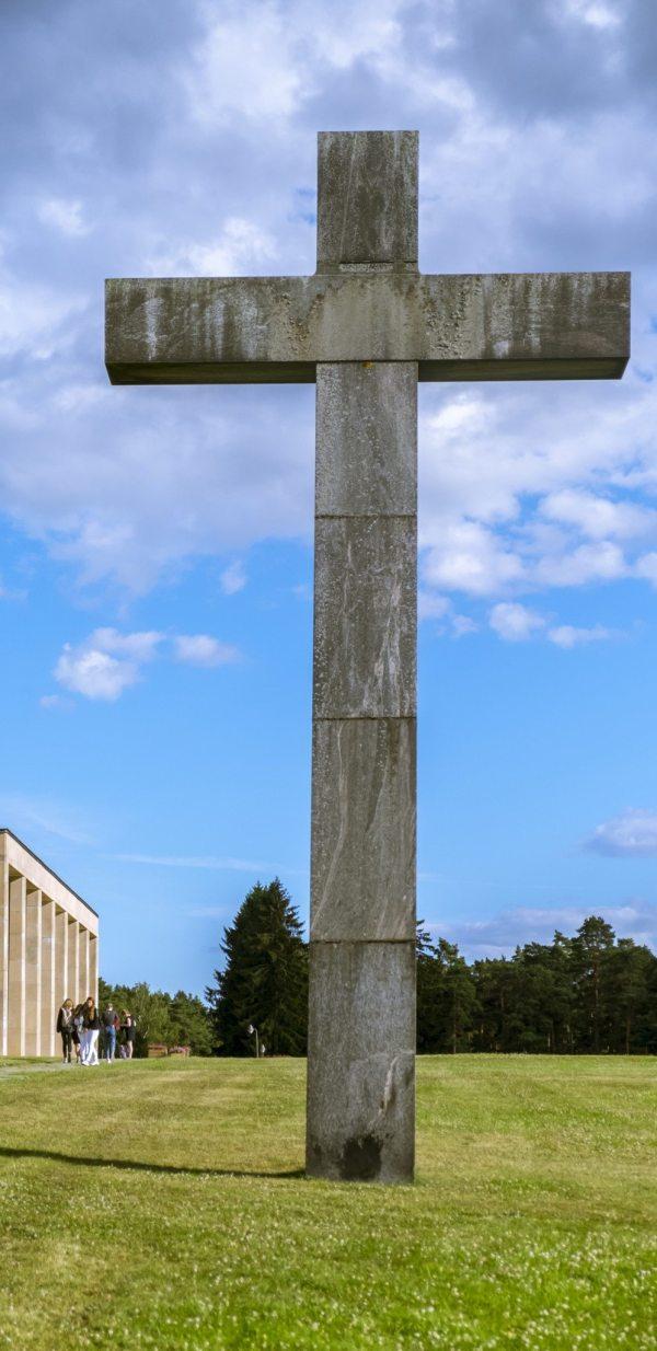 Skogskyrkogården or Woodland Cemetery, Stockholm, Sweden. One of the 16 UNESCO sites I visited in 2016 Travelure ©