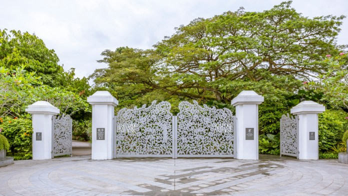 Singapore Botanic Gardens - Entrance to a Forest in the City