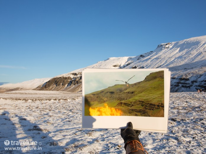 Near Þórufoss (Thorufoss) waterfall in Mosfellsdalur valley - Game of Thrones (GoT) Tour - Instagram Roundup - Iconic Iceland