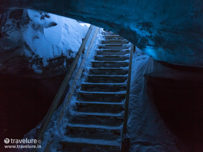 Ice Cave reached by Snowmobiles - Instagram Roundup - Iconic Iceland