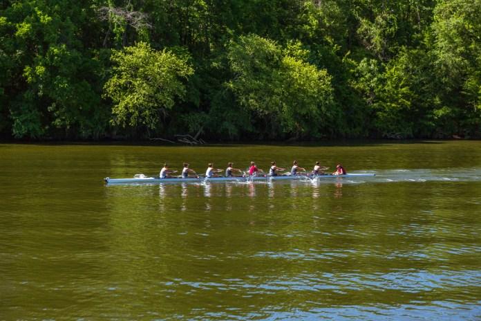 Oarsmen on the Black Warrior River - Tuscaloosa