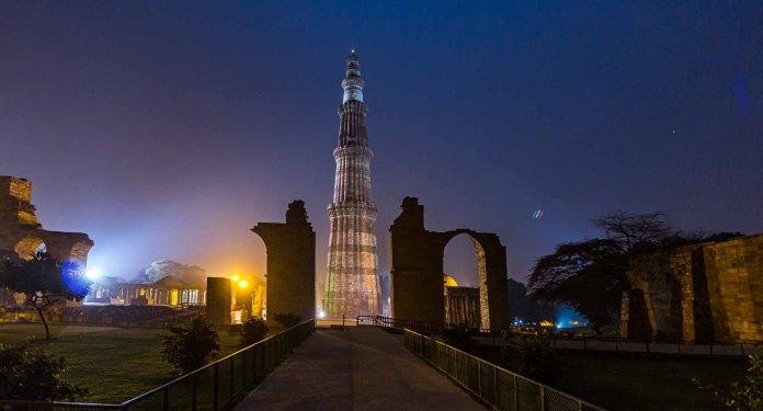 Qutub Minar - Symbolic Axis of a Faith - Travelure ©