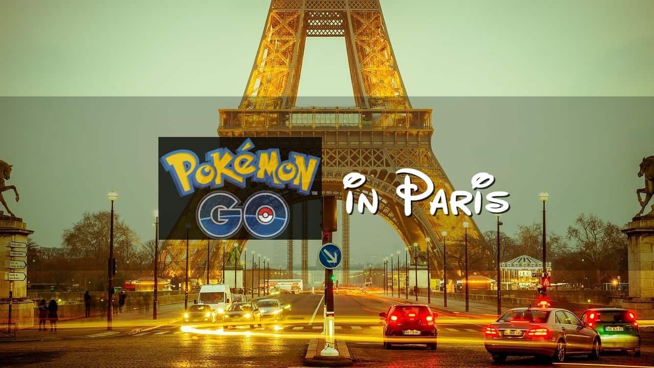 Best Place for Pokemon Go Hunting in Paris - Singapore Travel Blog