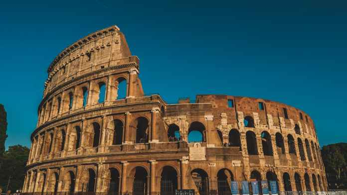 Colosseum  Rome, Italy.