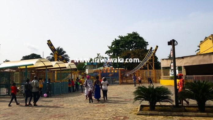 Apapa Amusement Park coaster rides