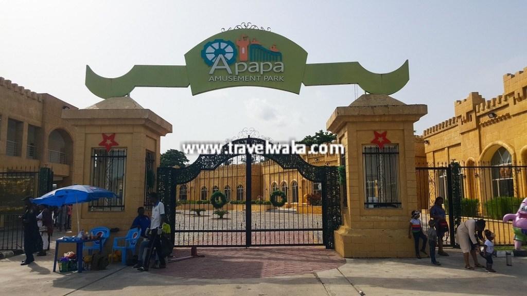 Apapa Amusement Park entrance