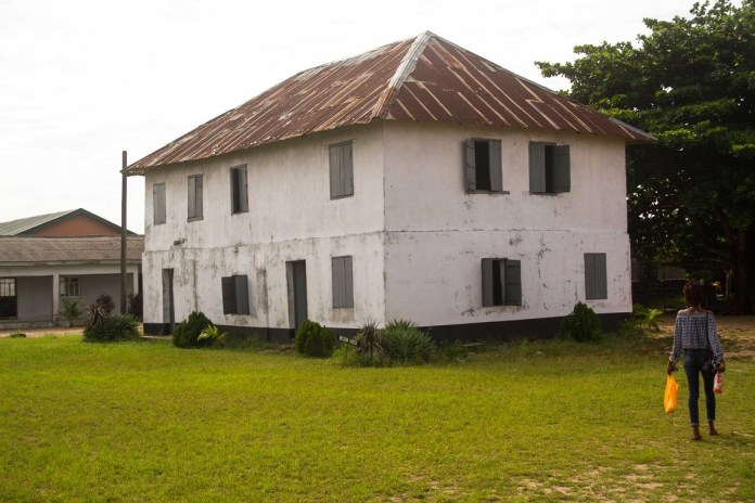 places to visit in badagry - First Storey building in Nigeria