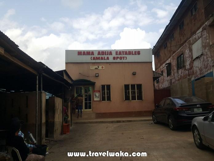 Mama Adija Eatables top amala spot in Nigeria
