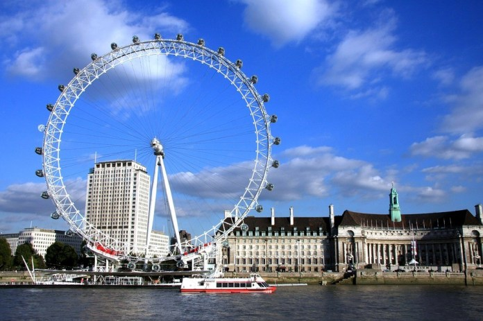 london eye - Best Tourist Attraction Sites in The United Kingdom