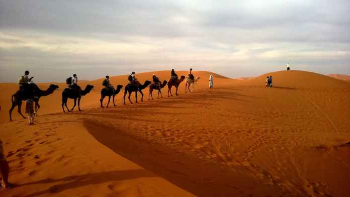 Dubai Desert - top tourist destinations in Dubai