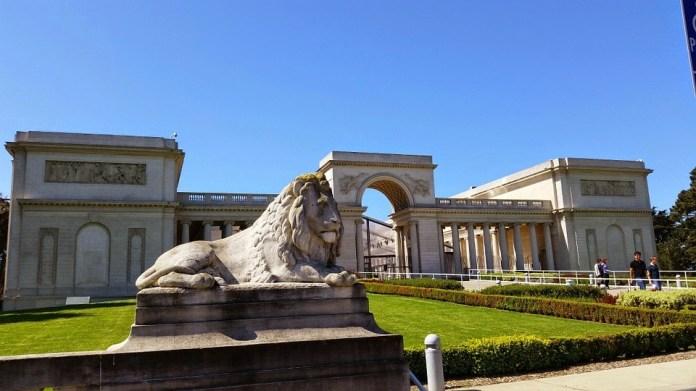legion of honor - tourist attractions in America