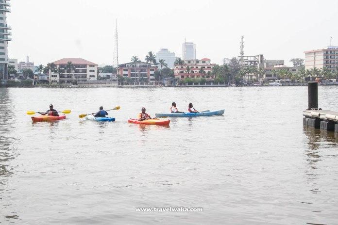 kayaking in lagos travelwaka