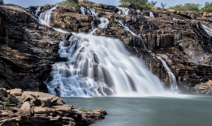 Gurara waterfall in Nigeria