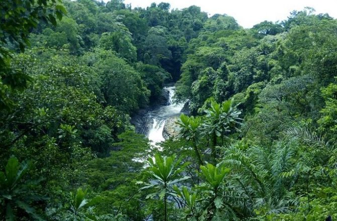 kwa waterfall in Nigeria