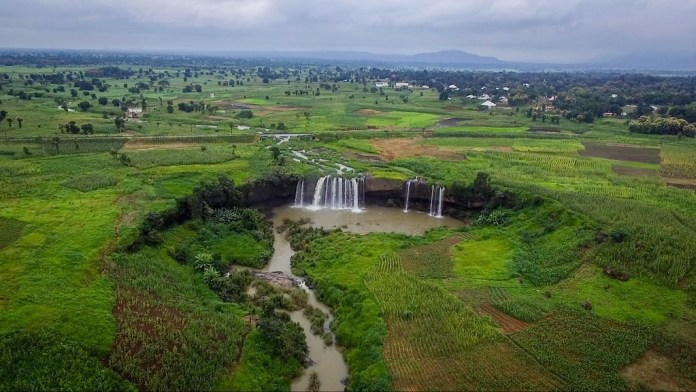 Matsirga waterfalls in Nigeria