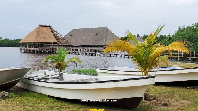 boat ride in benin republic