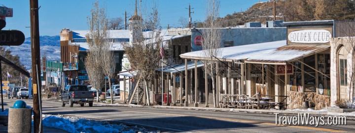 Austtin Nevada in the winter