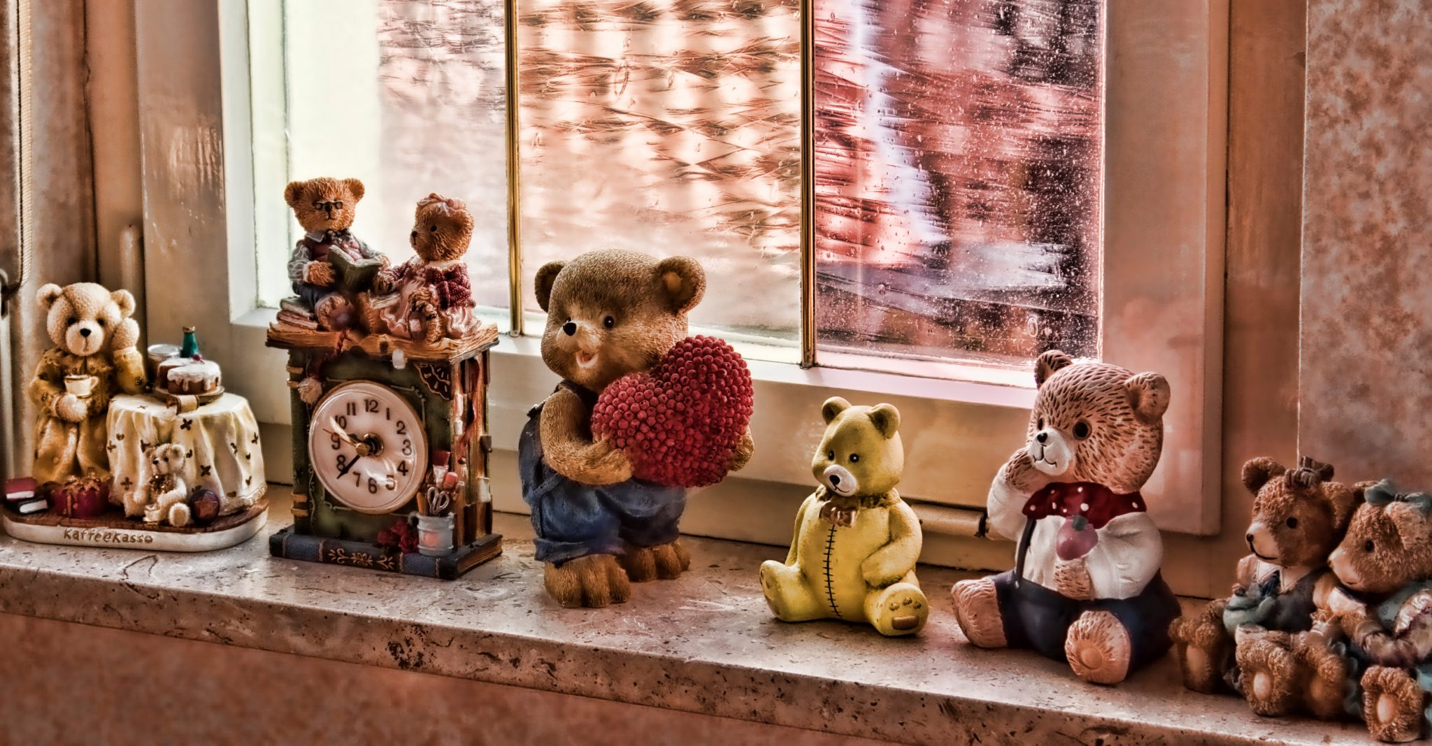 Toys: Teddy bears in Germany
