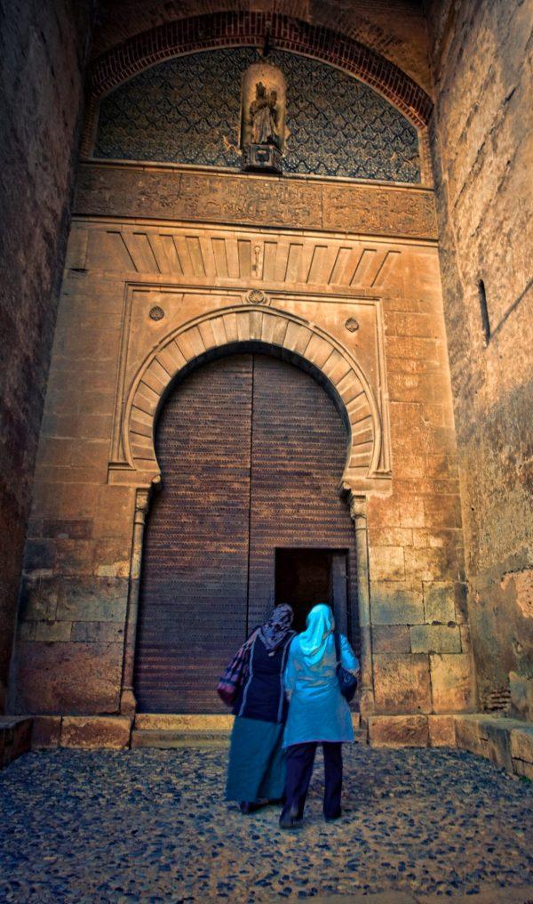 Alhambra Arabic door