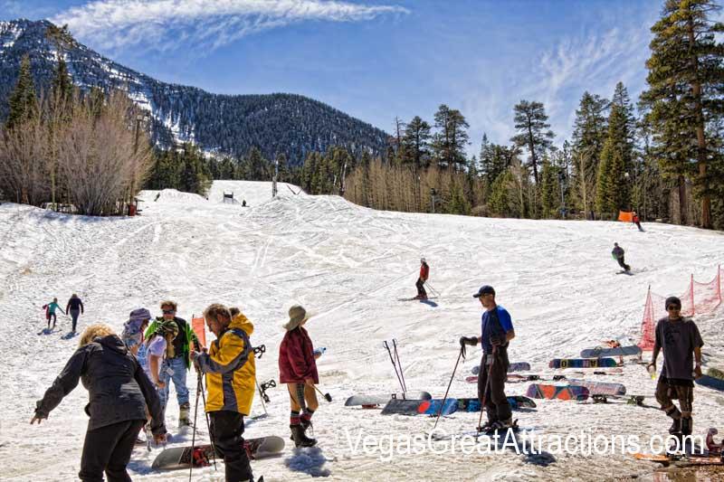 Mt. Charleston ski resort las vegas