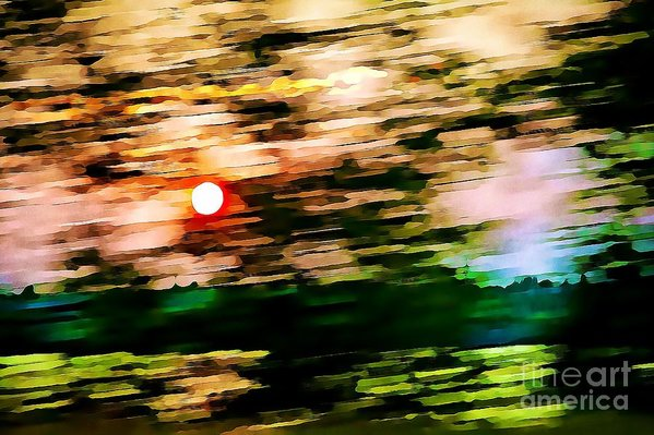Motion abstract art