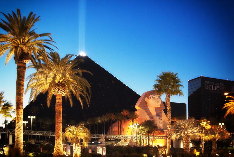 Luxor Sky Beam in Las Vegas