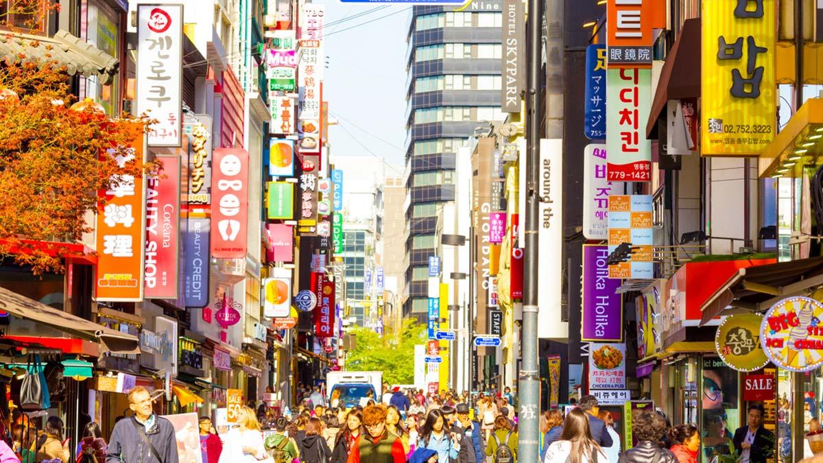Resultado de imagen de myeongdong