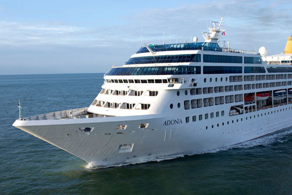 Royal Caribbean Cruises to buy Adonia from P&O Cruises