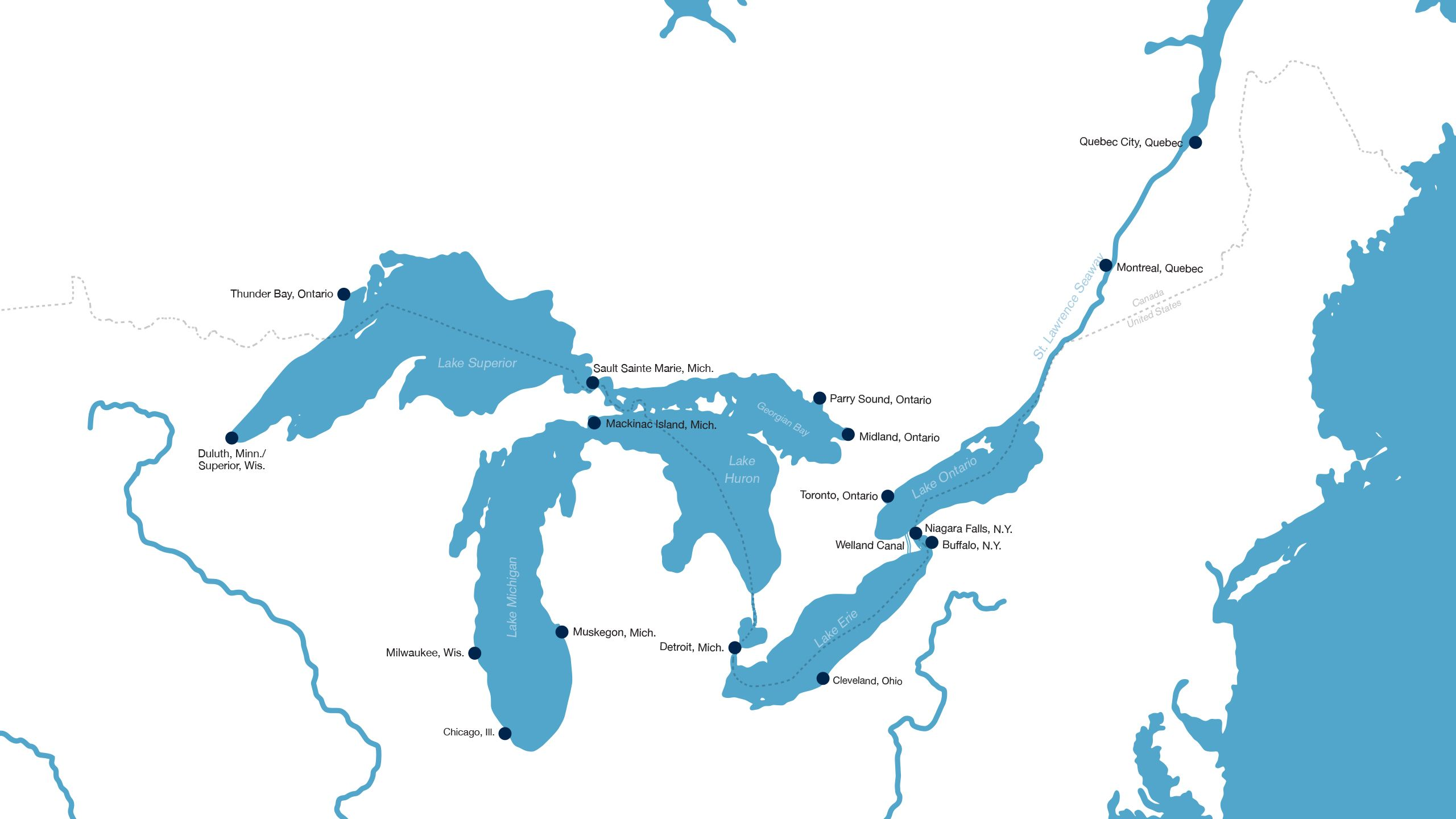 Cruising The Eighth Sea The Great Lakes Are Emerging