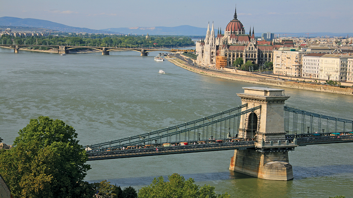Budapest is one of four capital cities sitting directly on the banks of the Danube.