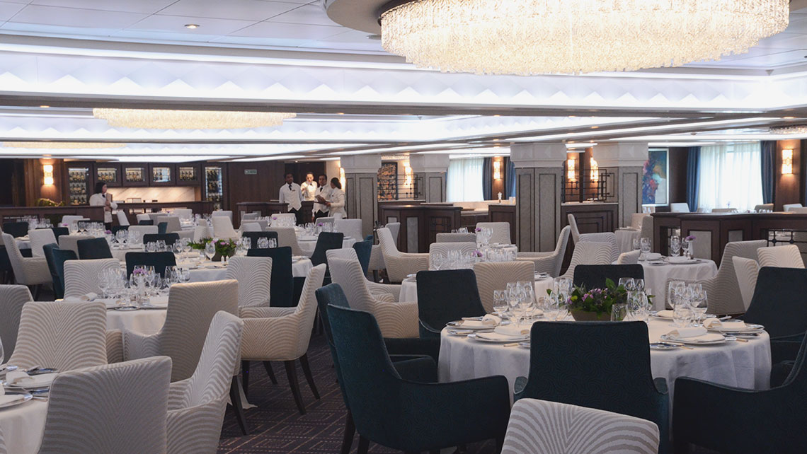 The Compass Rose restaurant was completely redone. Photo Credit: Jamie Biesiada