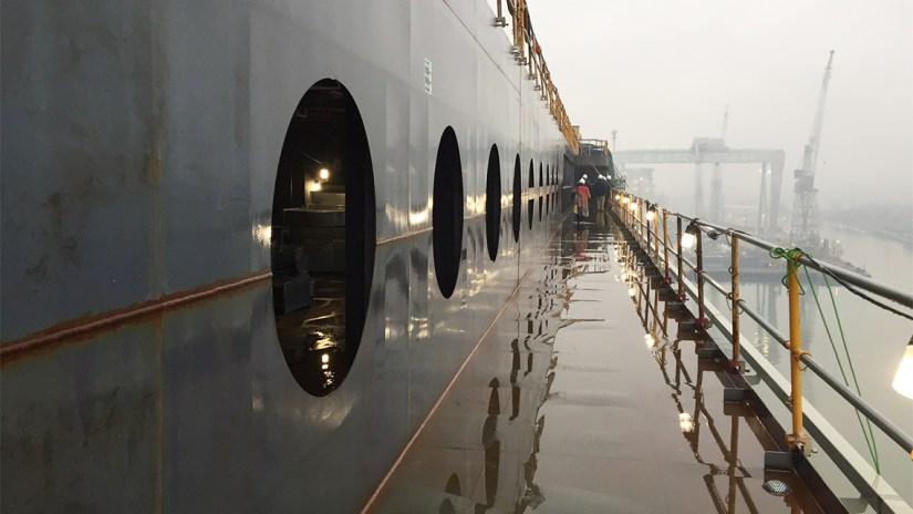 MSC Seaside's exterior deck. Photo Credit: Tom Stieghorst