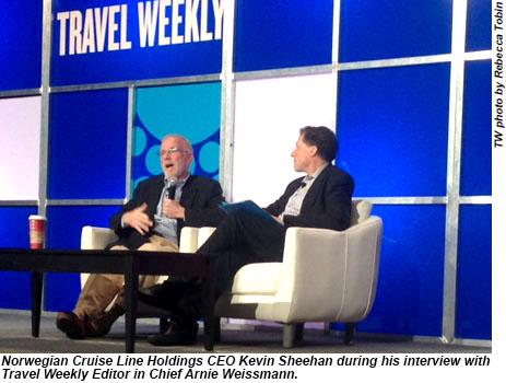 CruiseWorld 2013 Kevin Sheehan and Arnie Weissmann