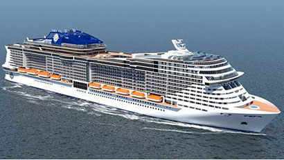 MSC Cruises ship rendering