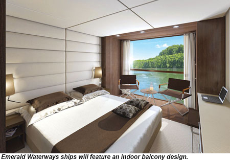 Emerald Waterways Indoor Balcony design