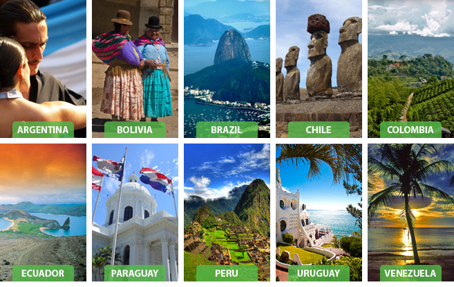 Tourist Attraction In South America Travel Wide Flights