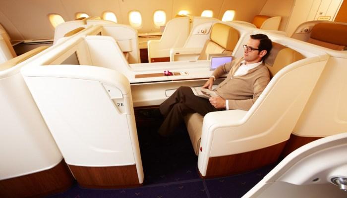 First Class Thai Airways Travel Wide Flights