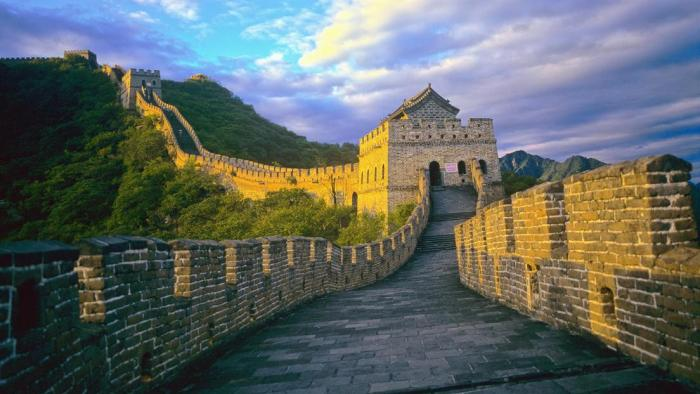 wall of china travel wide flights