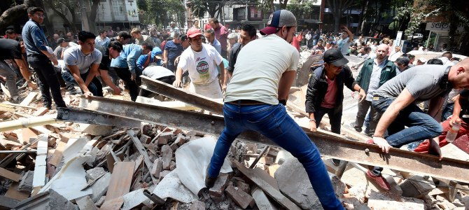 Ruthless 7.1 Magnitude Earth Quake hits Mexico