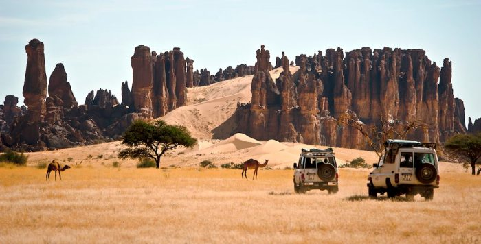 Ennedi Desert Travel Wide Flights