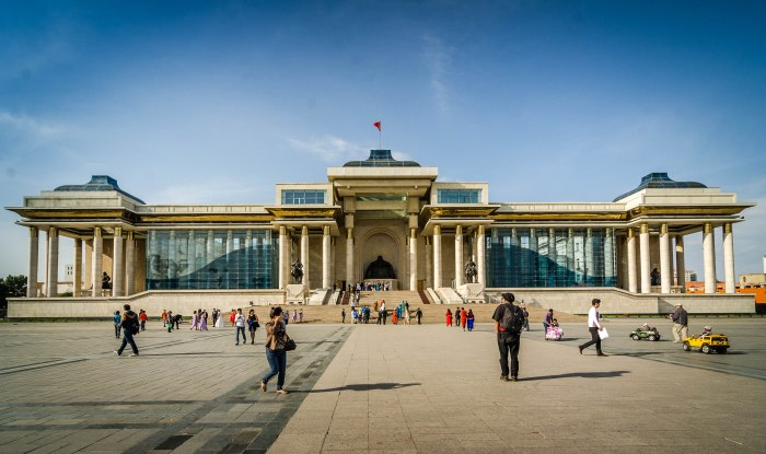 Genghis Khan Square Travel Wide Flights