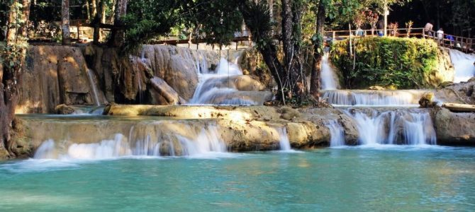 Most Beautiful Waterfalls Of Laos