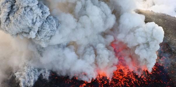 Japan Volcanic Eruption
